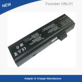 Laptop Battery/LiFePO4 Battery/Lithium Battery for Founder Unl51