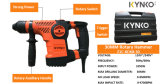 Kynko Multi Function Electric Rotary Hammer (KD68)