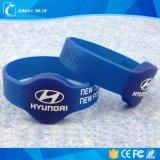 Custom Printing Silicone 13.56MHz RFID NFC Tag213 NFC Wristband