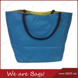 Lady Fashion Casual Cotton Canvas Beach Carry/Hand Bag