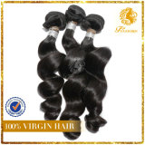 New Arrival 6A-Brazilian Unprocessed Loose Wave Weft 100% Virgin Remy Human Hair Extension (TFH-NL0080)