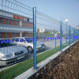 Utility Hot Dipped Galvanized Welded Wire Mesh 3D Fence Panels