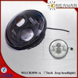 7inch 30W-LED for Jeep Headlight with Hi/Low Beam