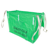 Green Self-Standing PP Big Bag / PP Container Bag