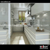 2016 Welbom Intelligent White Gloss Polyurethane Kitchen Cabinet