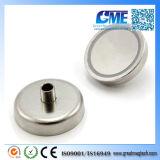 N42 D48xh24mm High Quality Pot Neodymium Magnet