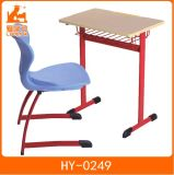 Wooden Children Single Desk and Chair of Wholesale