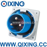 IP67 63A 3p Blue Industrial Plug (QX826)