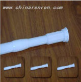 Aluminum Alloy Ratable Shower Curtain Rod