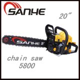 Hot Sale Petrol Chainsaw 5800 for Wood Cutting