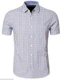 Business Men Plaid Shirt