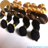 Popular Ombre Human Hair Weaving in Body Wave