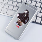 TPU Stained Phone Accessories Cartoon for iPhone Case