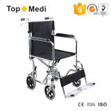 Transit Light Weight Manual Wheelchair with Chromed Steel Frame