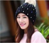 Outdoor Trendy Winter Warm Knit Beanie Hat with POM