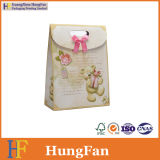 Custom Logo Paper Gift Bag / Shopping Bag / Package Bag with Ribbon Knot