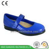 Women Casual Leather Shoes Fashion Design Depth Comfortable Shoes with Spandex Material