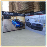 Automobile Promotion Campaign Banner Display