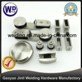 Bathroom Glass Sliding Door Hardware Set Wt-4201