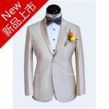 Made to Measure 2 Buttons Notch Lapel Men′s Striped Suit