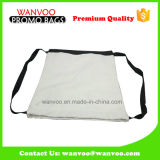 Fashion Eco Blank Cotton Canvas Drawstring Travel Backpack Bag