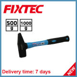 Fixtec Handtools 500g Machinist Hammer with Fiber Glass Handle