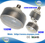 Yaye 18 Hot Sell Waterproof 30W/50W/70W/90W/100W E40 LED Bulbs /LED Bulb Light with 2/3 Years Warranty