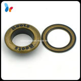 Custom Concave Logo Metal Round Eyelet for Curtains