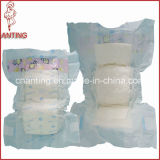 Grade a High Quality Soft Breathable Disposable Baby Diaper (CLM)