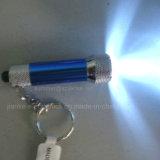Custom Logo Print Flashlight Keyring with Factory Price (4070)