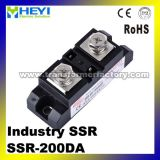 200A Industrial SSR Single-Phase Output 440VAC Solid State Relay