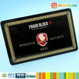America hotsale Anti-hack custom PVC RFID Blocker Card