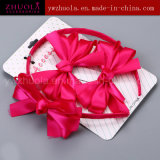 Hair Ornament with Ribbon Bow for Girls