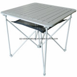 Quality Aluminum Light Weight Camping Outdoor Folding Table with Patent