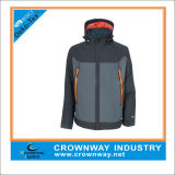 Winter Hooded Outdoor Sport Waterproof Jacket for Men