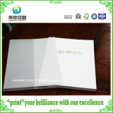 Fancy Paper Printing Book with Butter Paper Slipcase