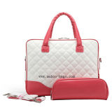 Fashion Leather Handbag, Laptop Bag for Ladies (MH-2040)