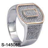 Factory Latest Models 925 Sterling Silver Men Ring.