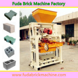 Qt40c-1 Simple Small Concrete Interlocking Brick Production Machine Line for New Starter
