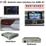 Car Upgrade Multimedia HD Video Interface Android System GPS Navigator for A7 Support DVD/TV/Mirrorlink
