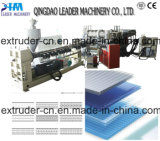 Hot Sale Plastic PP/PE/PC Hollow Grid Extrusion Line in 2017