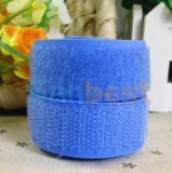 100% Nylon Hook & Loop in Blue Color