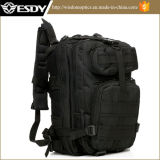 Black Color Level III Medium Transport Molle Assault Backpack