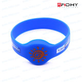 Printing 13.56MHz Card Contactless RFID Silicone Wristband Watch Band Tag