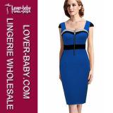 Bandage Dress Plus Size Women Clothing (L36116-3)