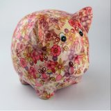 Factory Supply Promotional Pig Ceramic Coin Bank