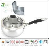 Saucepan 3 Ply Composite Body Pan