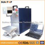 10W 20W 30W Metal and Non-Metal Fiber Laser Marking Machine for Ring Plastis PVC iPhone Case