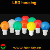 G45 PC Deco Colorful Bulb LED Housing Cover