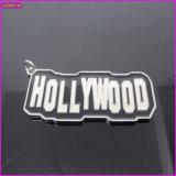 Hollywood Flag Logo Tag Custom Metal Charm (15112)